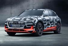 Audi e-tron: lancering uitgesteld