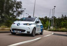 4 zelfrijdende Renault Zoé's ten zuiden van Rouen