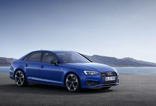 Audi A4 poedert neus en kont bij