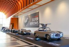 Les « Silver Arrows » au musée Louwman