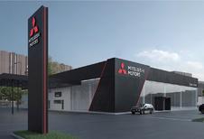 Wereldwijd nieuwe look voor Mitsubishi-showrooms