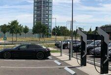 Première installation de superchargeurs Porsche à Berlin