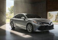 Toyota Camry bereidt zich voor op Europese carrière
