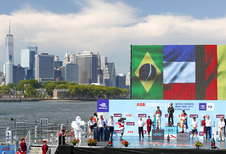 Jean-Eric Vergne wordt in New York nieuwe Formule E-kampioen