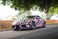 Toyota Supra in de klasse van de viercilinders