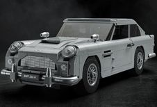 Lego bouwt Aston Martin DB5 van James Bond