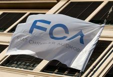 Chute de l'action FCA
