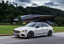 Mercedes Classe A Sedan : pour fendre l'air