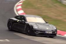 Porsche Taycan : toujours avec de faux échappements