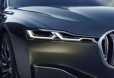 Une BMW Série 9 pour contrer Maybach ?