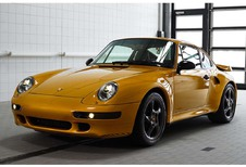 VIDÉO - Pebble Beach 2018 – Porsche Project Gold : superbe Restomod de la 993 Turbo S