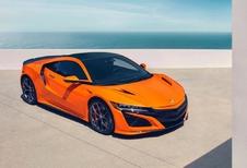 Honda NSX: nieuwe afstelling én oranje lak