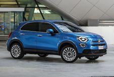 Fiat 500X: kleine facelift en Renegade-motoren