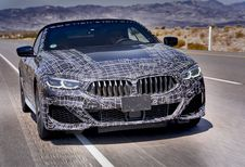 BMW 8-Reeks Cabriolet: prototypes in Death Valley