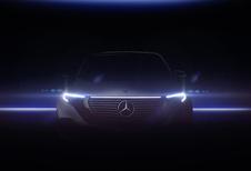 Mercedes EQC : des images de l'intérieur et de l'extérieur
