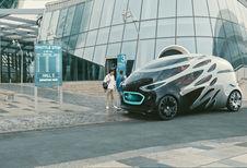 Mercedes Vision Urbanetic: moduleerbaar pendelbusje