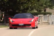 Ferrari test met hybrides?