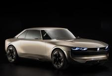 Peugeot E-Legend Concept is elektrisch eerbetoon aan de 504 Coupé
