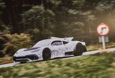 Mercedes-AMG Project One : sur la route