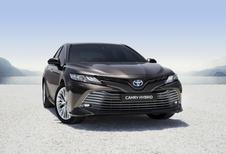 Toyota Camry: naar Europa als hybride