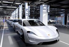 Ondanks productieverhoging is Porsche Taycan uitverkocht tot 2021