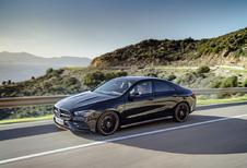 Mercedes CLA Coupé: BMW achterna #1