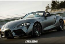 Toyota Supra : comme ça en Roadster ?