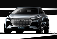 Audi Q4 e-Tron : avant la version de production de 2020
