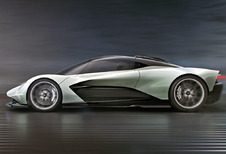 Aston Martin AMR-RB 003 : technologie F1 #1