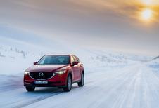 La Laponie en Mazda CX5 (1) : un hiver qui persiste