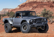 Jeep Moab Easter Safari 2019 zit vol pick-ups