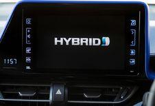 La moitié des Toyota immatriculées sont hybrides