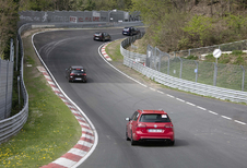 Met Volkswagen Golf GTI door de groene hel van de Nordschleife