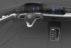 VW Golf 8: het dashboard is bekend
