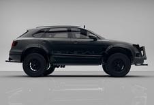 Extreme off-roadversie Bentley Bentayga in de maak