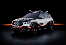 Mercedes GLE ESF 2019 Concept zet Safety First