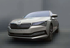 Facelift Skoda Superb gelekt