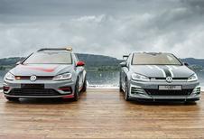 Volkswagen brengt Golf GTI Aurora en FighteR mee naar Wörthersee