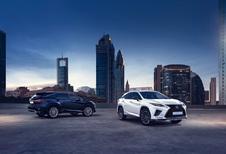 Lexus geeft RX en RX L een facelift