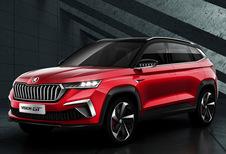 Skoda: Vision GT-concept is de vijfde SUV voor de Chinese markt