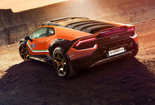 Lamborghini Sterrato concept is Huracán met Urus-genen