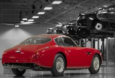 Aston Martin DB4 GT Zagato Continuation is bloedrode beauty