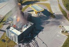 Explosie van een waterstofstation in Noorwegen