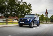 Mercedes G 400 d in speciale uitvoering