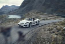 Porsche 718 Spyder is manueel, open en atmosferisch