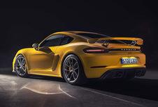 Porsche 718 Spyder & Cayman GT4: afslankdieet