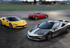 Ferrari  presenteert de SF90 Stradale in Maranello aan het grote publiek