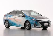 Toyota Prius op zonne-energie