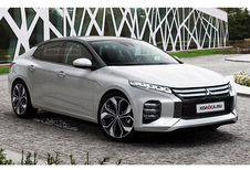 Mitsubishi: de toekomstige Lancer ingebeeld