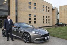 Topman van Aston Martin veroorzaakt opschudding